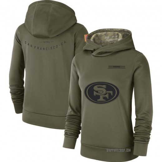 low priced fc1bc ad670 49ers salute hoodie